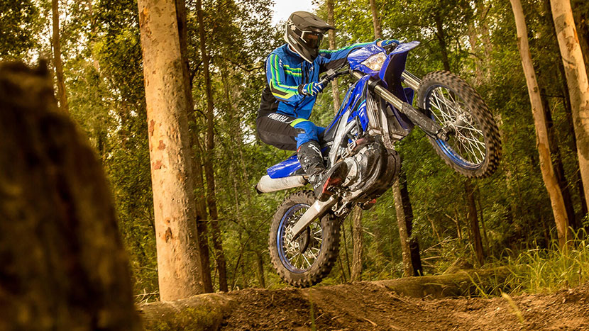 2021 YAMaha WR450F action