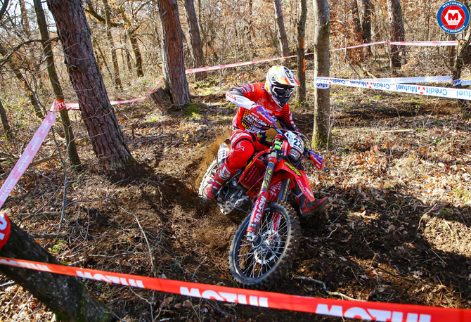 jeremy carpentier  championnat Europe enduro Brioude 2016