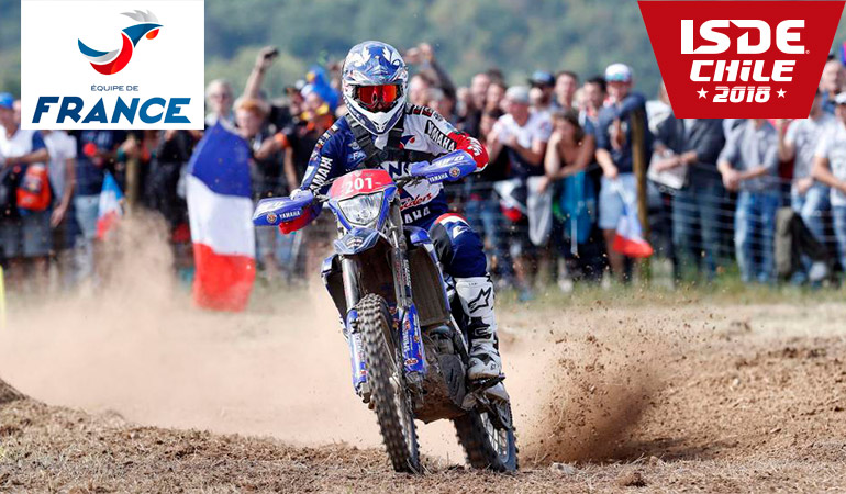 loic larrieu ISDE chilie 2018
