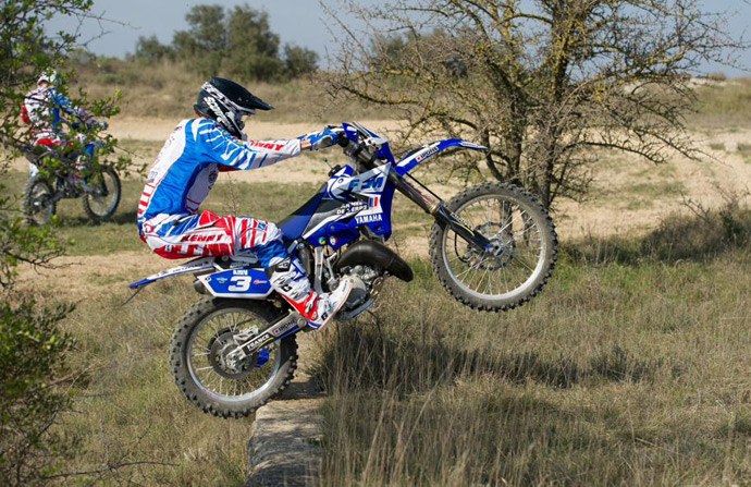Jeremy Mirroir  - Yamaha 125 YZ-E