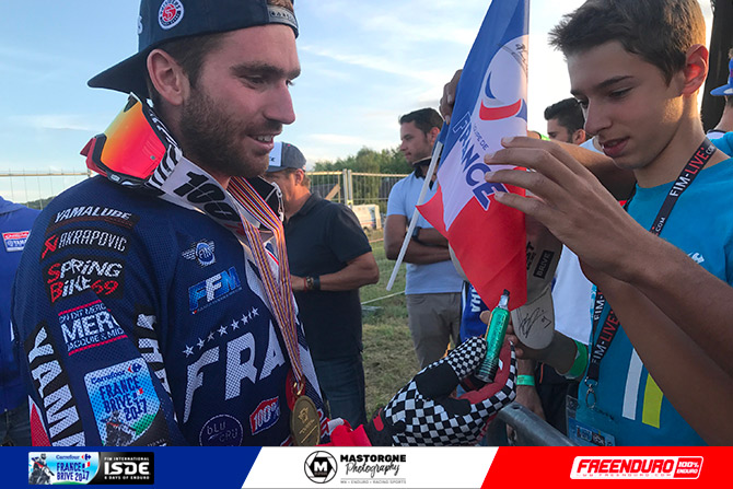 Loic larrieu champion ISDE 2017