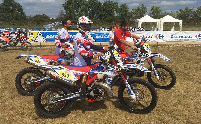 to enduro ISDE J 2 2017