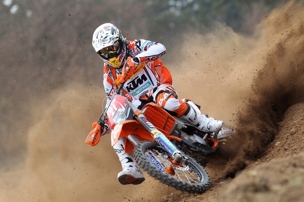 KTM 450 exc f 2012 -Johnny AUbert