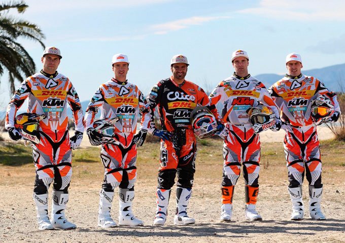Team enduro 2013 KTM