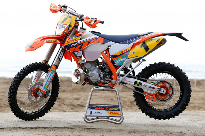 moto KTM 300 EXC  Team enduro Factory