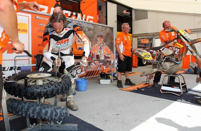 Team KTM Farioli enduro