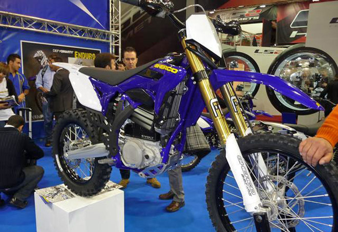 Sherco Evolt enduro