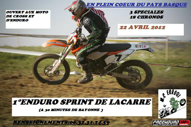 enduro sprint pays basque