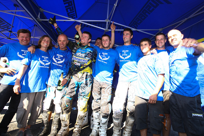 Team Husaberg enduro France