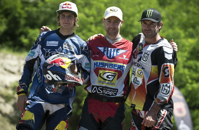 Red Bull Romaniacs  2012 podium final