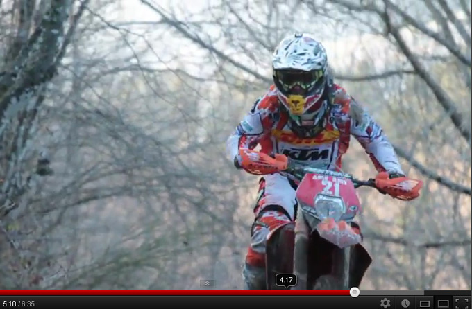 Johnny Aubert -KTM enduro