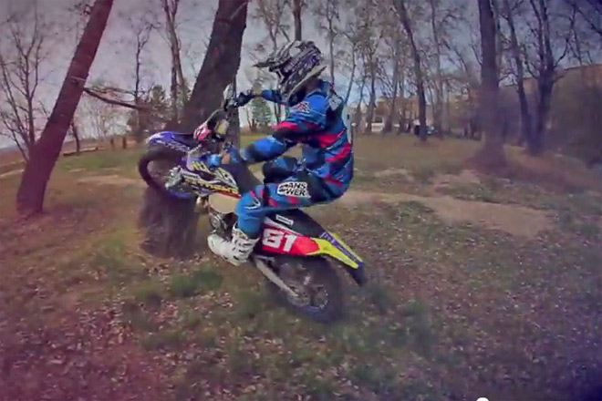 Xavie Galindo Husaberg enduro