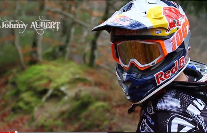 Johnny Aubert pilote ktm enduro