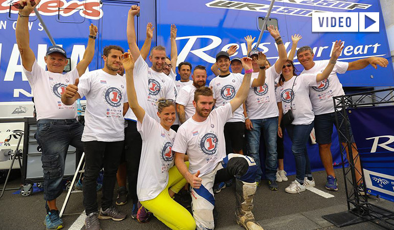 Loic larrieu champion France enduro2