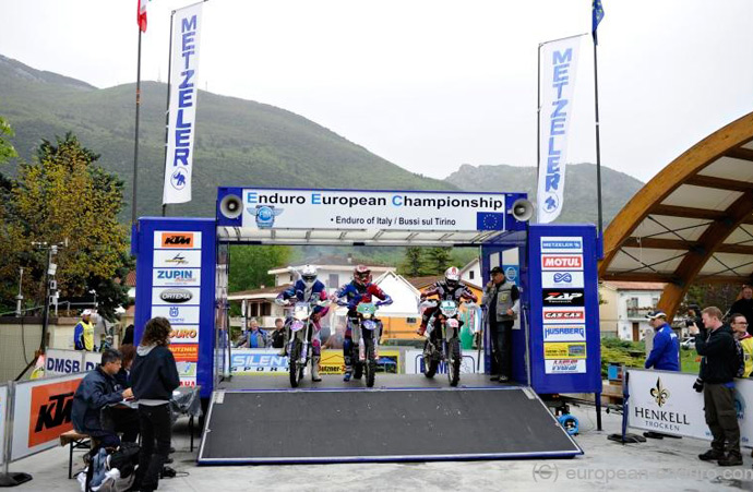 podium départ enduro europe 2013