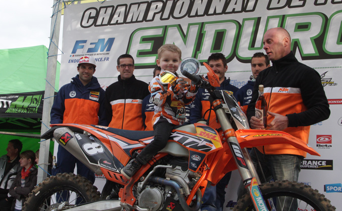 Eric Bernard manager team enduro KTM France