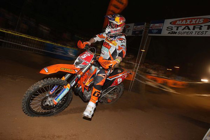 Johnny Aubert Enduro KTM