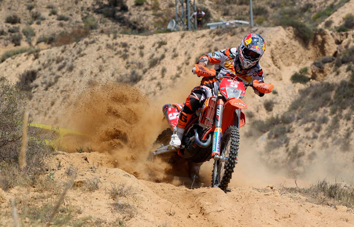 Johnny Aubert  450 KTM enduro ewc