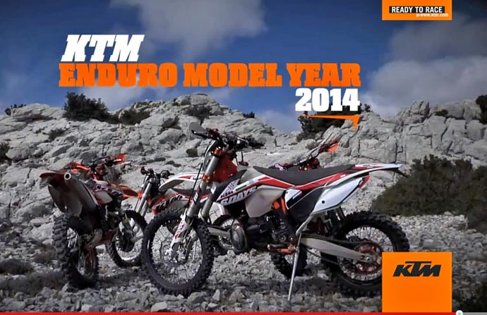 La KTM 6 days enduro 2014