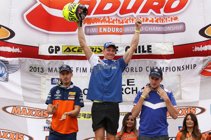 podium E3 EWC Talca : chili