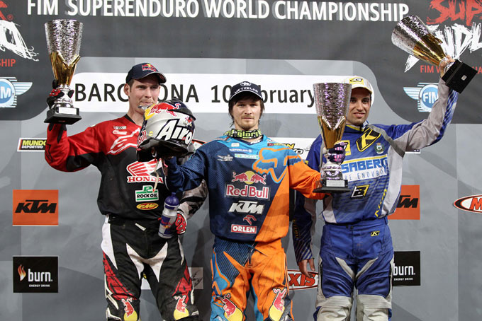 Le Podium Final Super Enduro 2013