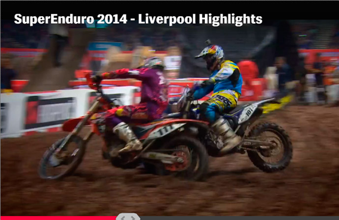 David Knight Super enduro Liverpool