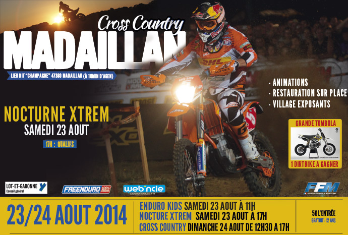 Affiche cross Country Madaillan
