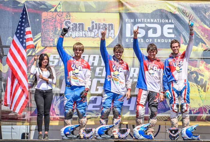 USA enduro ISDE