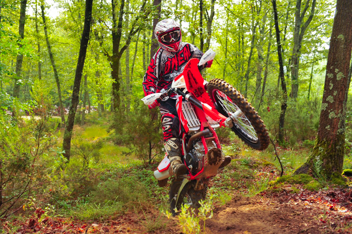 essai Beta 480 RR  2015  enduro