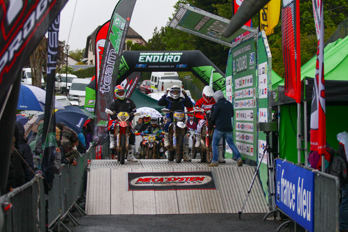 France enduro 2014 à Villebret