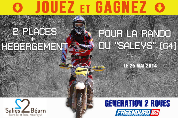 Jeux concours Freenduro avril 2014