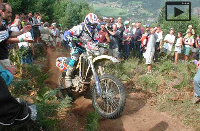 Cyril Esquirol enduro ISDE 2001