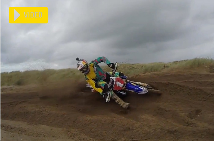 David Knight trainning enduro sable
