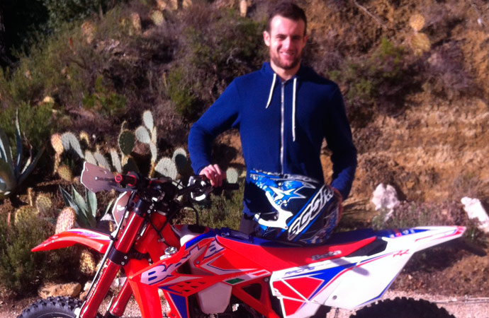 Winsley Demaria pilote moto Team Beta enduro France