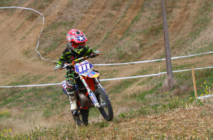 stage pilotage moto enduro kid