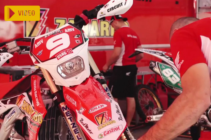 Honda 450 CRF d'Alex Salvini