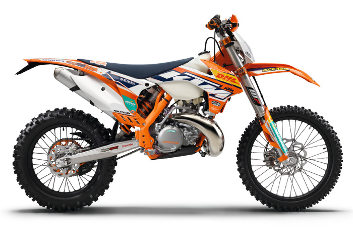 moto KTM Factory edition enduro 2015