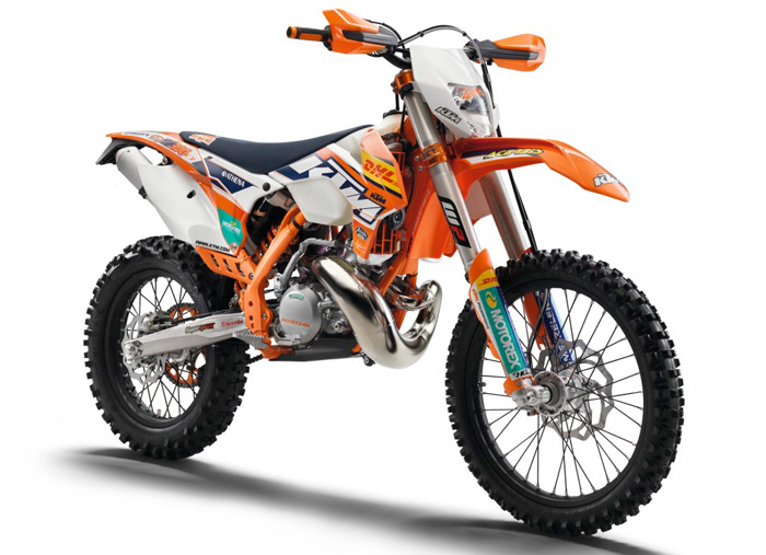 photo moto enduro KTM