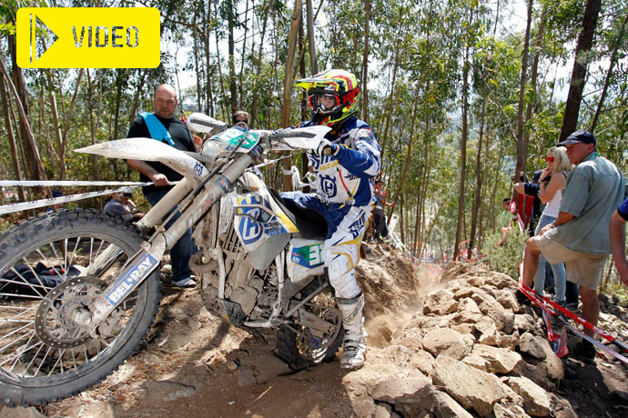Loic Larrieu pilote enduro team Husqvarna junior