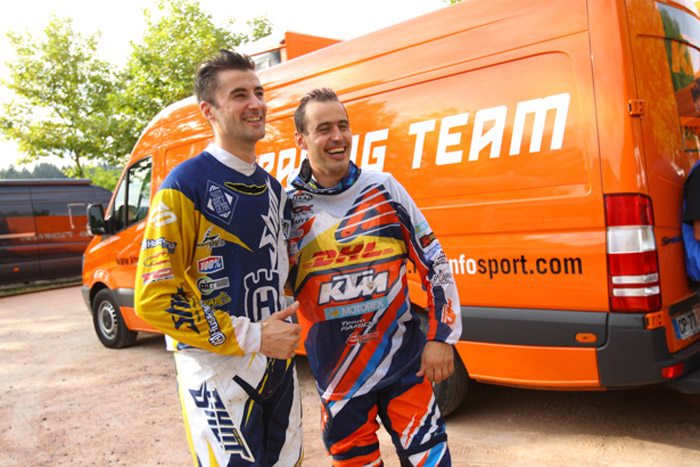 Pela Renet et Nambotin champion de France d'enduro 2014