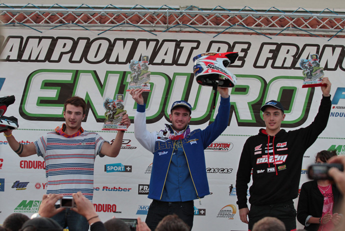Podium Theo Bolley,  jeremy Carpentier