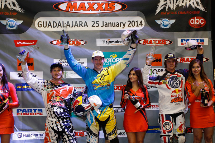 Podium super enduro mexique 2014