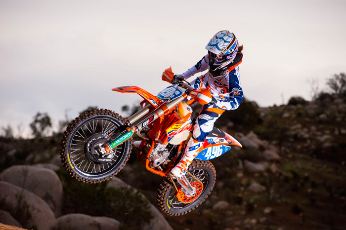 Kacy Martinez ktm enduro USA