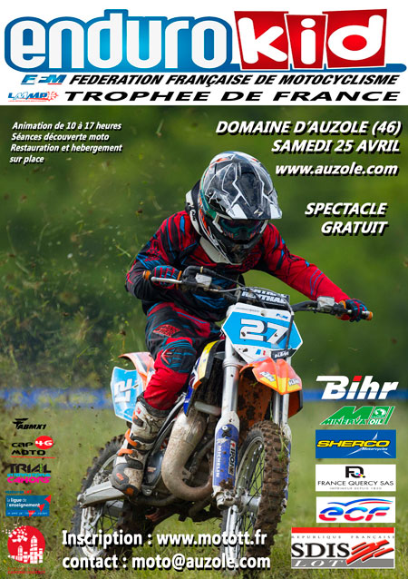 Affiche Enduro Kid