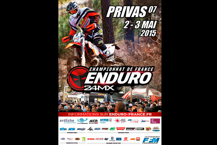championnat de France d'enduro à Privas
