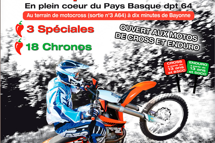Enduro sprint et Enduro KIds au Pays Basque