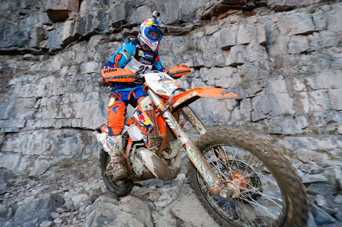 Jonny Walker Hard Tough One extreme enduro