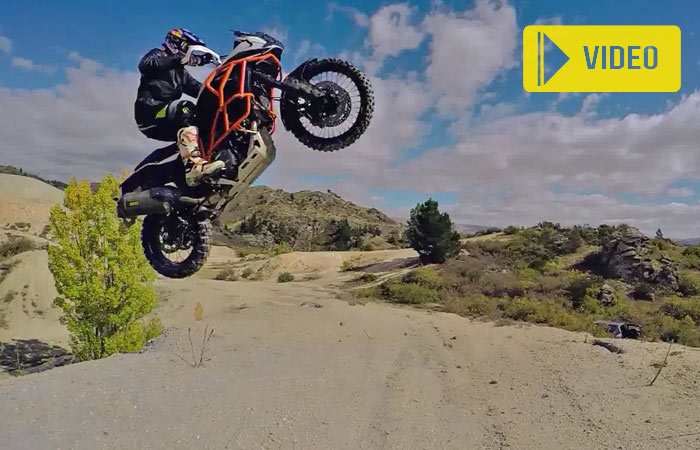 Chris Birch video extrme enduro KTM