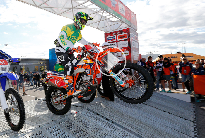 Matt Phillips  6 jours enduro 2015