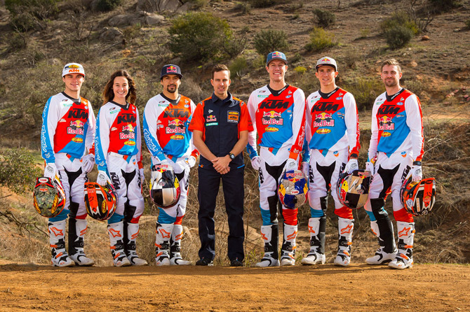 2017 KTM factory racing team